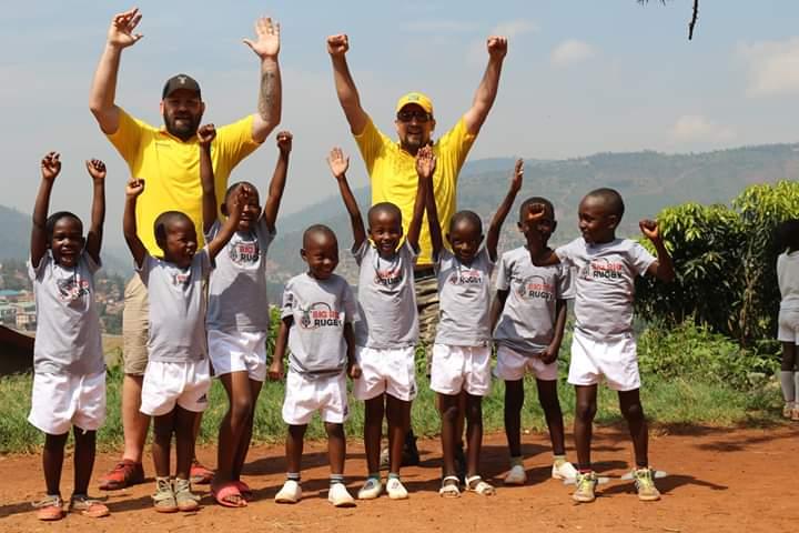 Big Rig Rugby in Rwanda